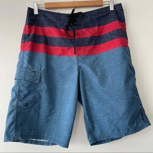 O'Neill Men's swim / board shorts blue size 31